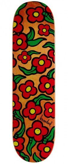 Krooked Wild Style Flowers 8.25 Skateboard Deck