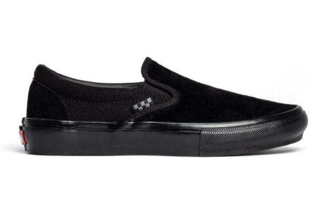 Vans Skate Slip-On Black/Black Shoes