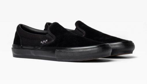 Vans Skate Slip-On Black/Black Shoes