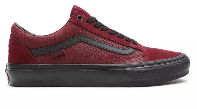 Vans Skate Old Skool Breana Geering Port/Black Shoes