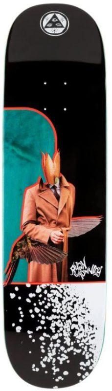 "Welcome Hummingbird on Enenra 8.5"" Deck"