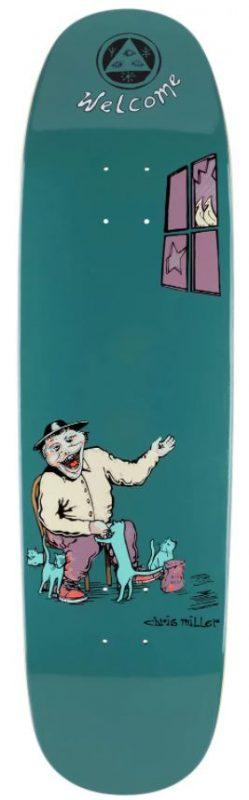 """Welcome Miller Bird Feeder on Catblood 2.0 8.75"""" Deck"""