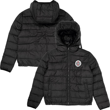 Independent Patch Youth Puffa Jacket
