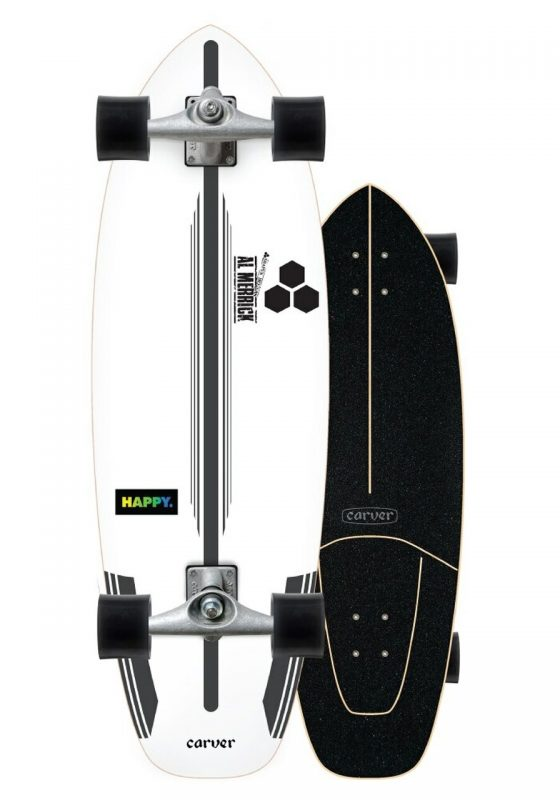 Carver x Channel Islands Happy 30.75 Surfskate Complete CX Trucks