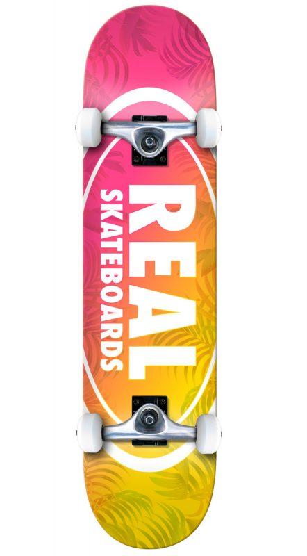 "Real Island Oval 7.5"" Skateboard Complete"