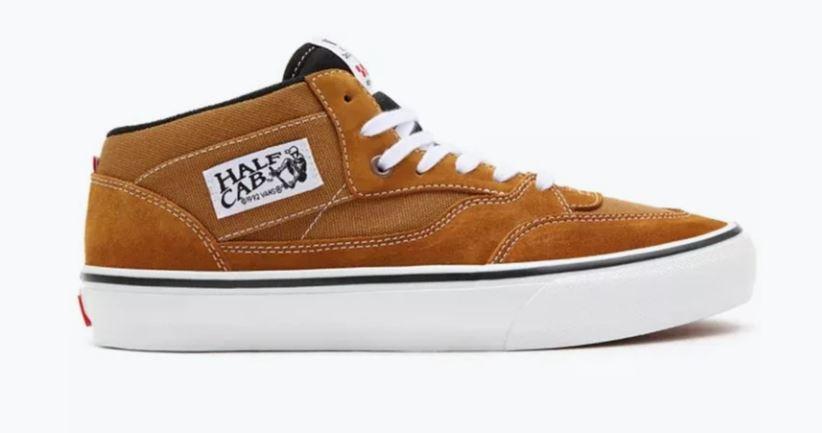 Vans Skate Half Cab '92 Golden/Brown Shoes